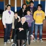 Nonna Palmina, centenaria di Pietramontecorvino