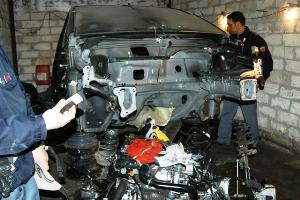 Auto riciclate, intervento operatori Commissariato di Cerignola