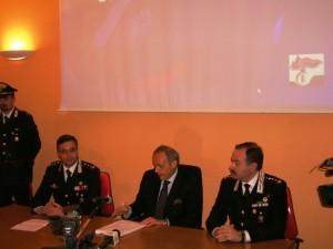 Conferenza stampa a Bari, blitz antiprostituzione (image Stato)