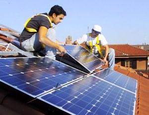 fotovoltaico, immagine d'archivio