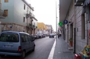 Manfredonia, via Antiche Mura (image Luigi Rignanese)