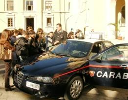 Carabinieri, legalità (immagine d'archivio)