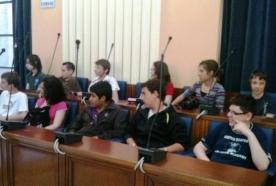 Foggia, studenti francesi in visita a Palazzo di Città