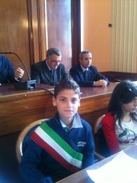 Ultima riunione del consiglio comunale dei ragazzi di Foggia (Stato)
