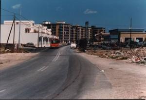 Manfredonia, via Scaloria negli anni '80 (fonte image: Luigi Rignanese)