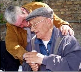 Anziani, immagine d'archivio