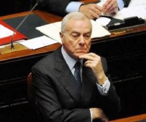 Gianni Letta (immagine d'archivio)