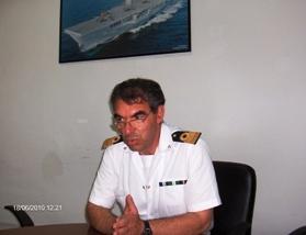 Il Capitano Antonino Zanghì in conferenza stampa (Stato)