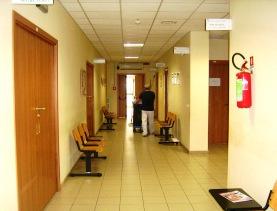 Interno Distretto terapia fisica di via Barletta (St)