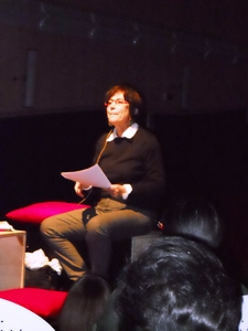 La professoressa Rosa Porcu (image M.P.Telera)