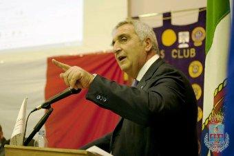L'ex presidente della CCIA di Foggia E.Zanasi (fonte image: Comune)