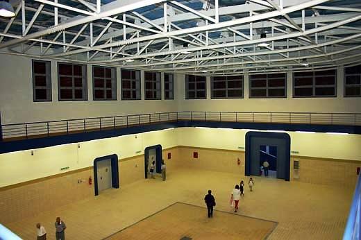 Sala Asta struttura Mercato Ittico di Manfredonia (CM-MF)