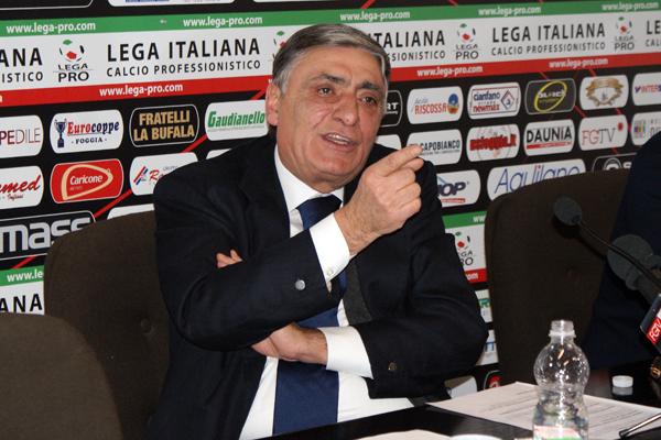 L'ex presidente del Foggia calcio Pasquale Casillo (ST)