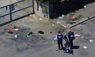 polizia attentato Brindisi