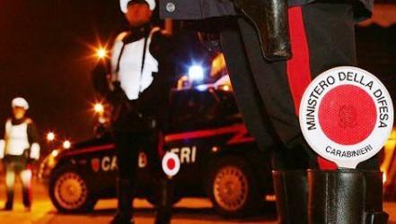 Carabinieri, controlli e posti di blocco (archivio)