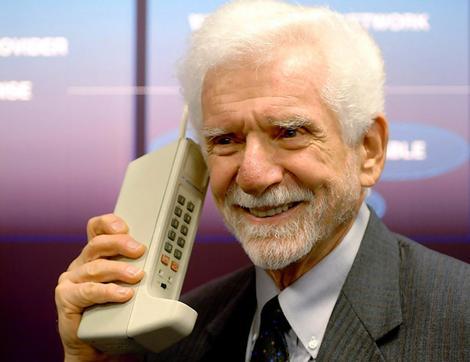 Martin Cooper, inventore del primo telefono cellulare