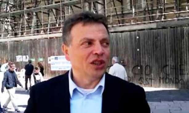 L'attuale sindaco di Lucera Antonio Tutolo (archivio)