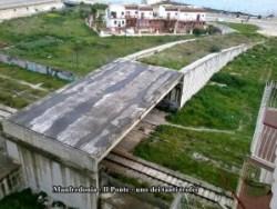 Un'opera incompiuta a Manfredonia (Ponte viale di Vittorio) IMMAGINE D'ARCHIVIO