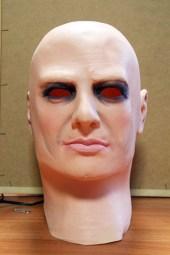 Maschera utilizzata (VINCENZO MAIZZI/ST)