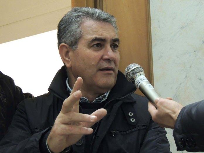 Il presidente del Movimento 'Manfredonia che funziona' Giovanni Caratù (ph: ANTONIO TROIANO/STATOQUOTIDIANO - RIPRODUZIONERISERVATA)