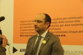 Il sindaco di Manfredonia Angelo Riccardi (ph: antonio troiano)