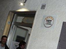 Esterno sede 'Sipontini 5 Stelle' di Manfredonia (st)