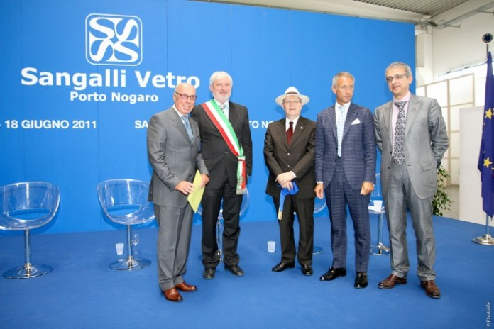 """18.11.2011 - Inaugurazione Ufficiale di """"Sangalli Vetro Porto Nogaro"""" (http://sangalligroup.com - immagine d'archivio)"""