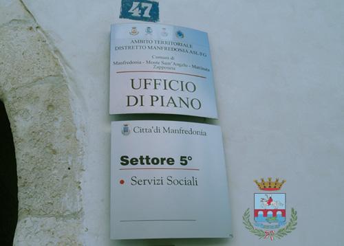 Piano sociale di Zona, uffici (ph: Comune di Manfredonia)