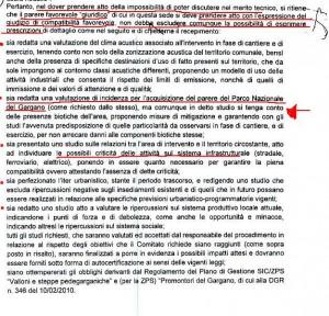 Aggiornamento della procedura dì valutazione di impatto ambientale ai sensi della Legge 349/86 - Parere sul deposito costiero di GPL nel Comune di Manfredonia (FG) - Proponente Società ENERGAS S.p.A. ex ISOSAR S.r.l.