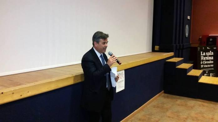 Il sindaco di Foggia Franco Landella (SQ)
