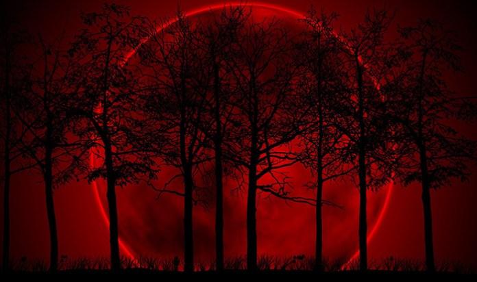Luna di sangue, eclissi di superluna