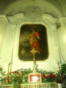Dipinto di Santa Lucia nella Chiesa di S.Benedetto