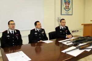 Un momento della conferenza di stamani a Foggia (ph MAIZZI)