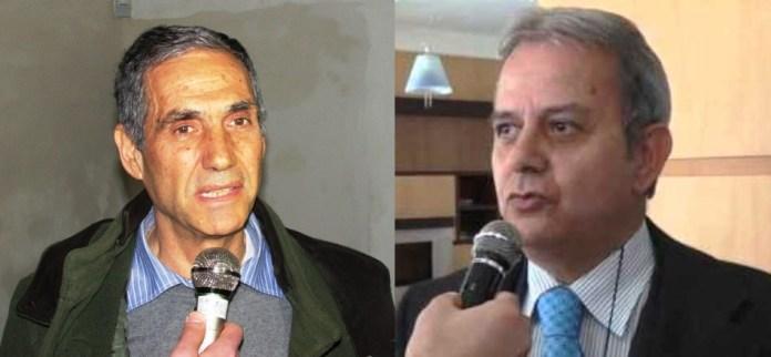 Da sx: il consigliere comunale Italo Magno e il Presidente dell'Energas SpA Diamante Menale