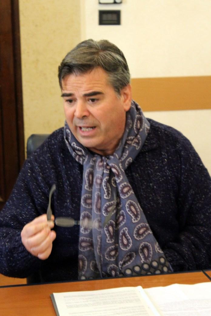 Il sindaco di Foggia Franco Landella - ph maizzi