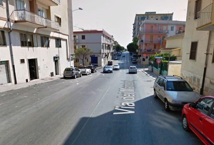 Via dei Mandorli, Manfredonia (ST - IMMAGINE D'ARCHIVIO)