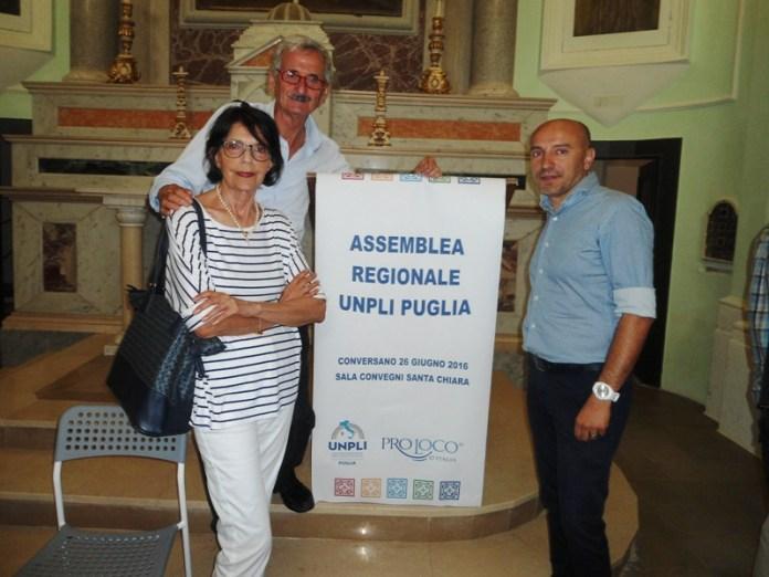 La delegazione Pro Loco di Manfredonia all'Assemblea UNPLI