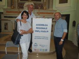 FOTO COPERTINA- La delegazione Pro Loco di Manfredonia all'Assemblea UNPLI