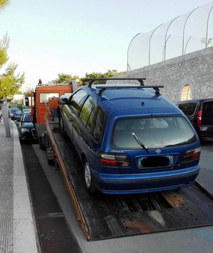 Sequestri Vieste, polizia municipale (ST)