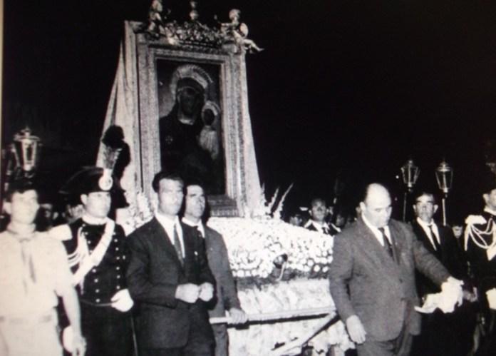 Processione della Madonna di Siponto negli anni '60
