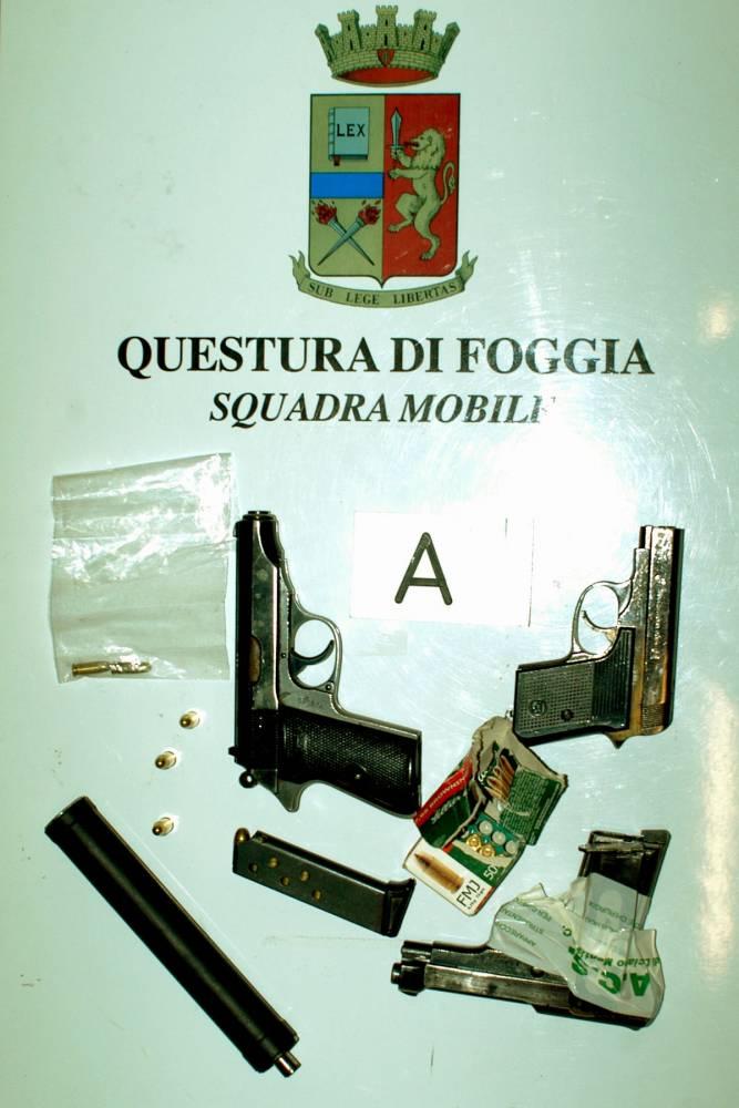 armi sequestrate - ph vincenzo maizzi