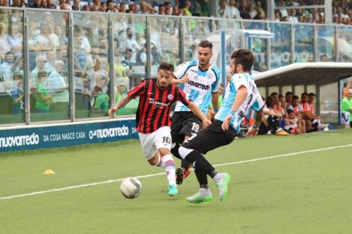 Foto di Carla Bianco, match di andata vinto dal Foggia per 0-1