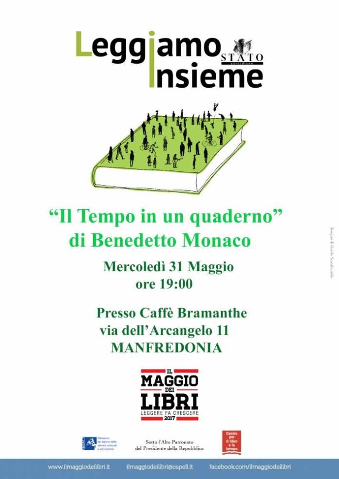 LOCANDINA A3 - Maggio dei Libri by Benedetto Monaco