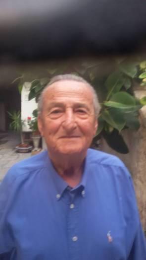 COPERTINA- L'ex Commissario di P.S. Nicky Di Staso-oggi 81 enne in pensione-Vive a Livorno