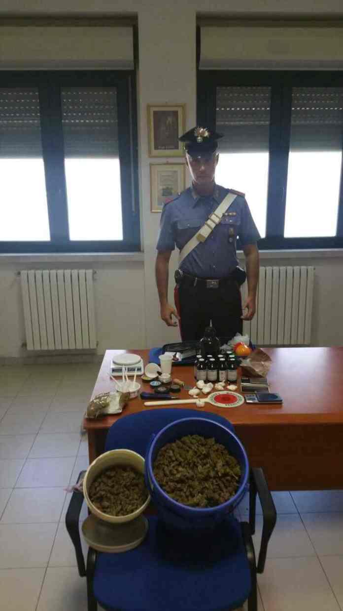 Immagine inviata dai Carabinieri di Cerignola (ph CC FOGGIA)