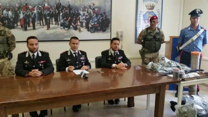UN MOMENTO DELLA CONFERENZA DI STAMANI A FOGGIA (PH ENZO MAIZZI) 09.09.2017