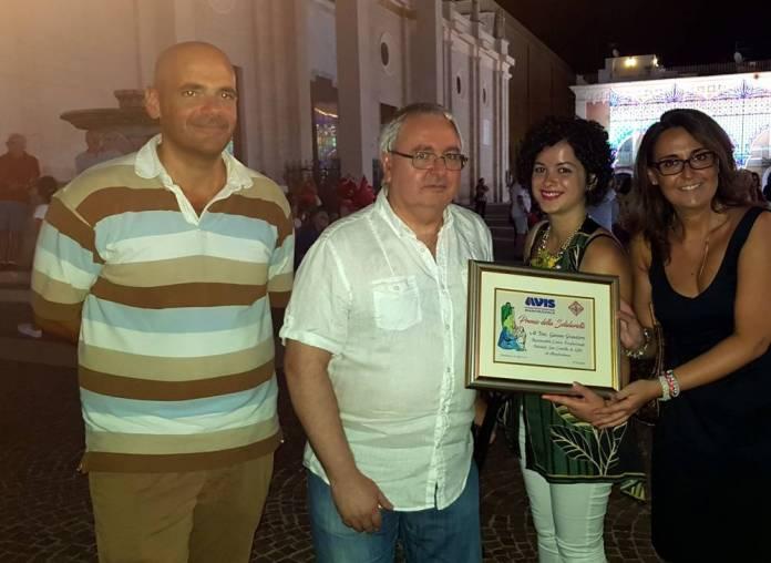 Premio Sezione trasfusionale Manfredonia