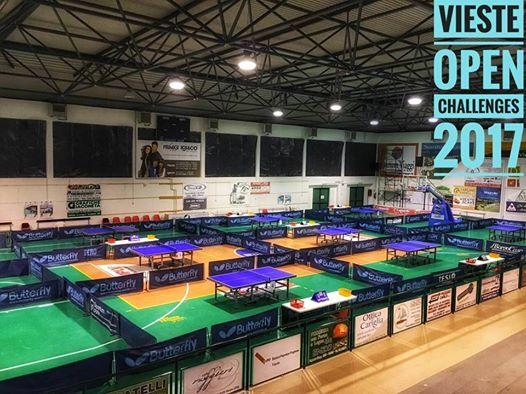 Vieste Open challenges 2017 - Palazzetto