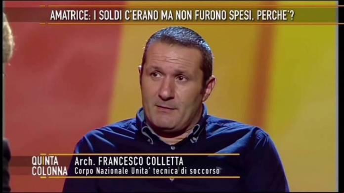 """Francesco Colletta """"Ecco cosa ho visto in quei giorni ad Amatrice…"""" (VIDEO) SETTEMBRE 2016"""