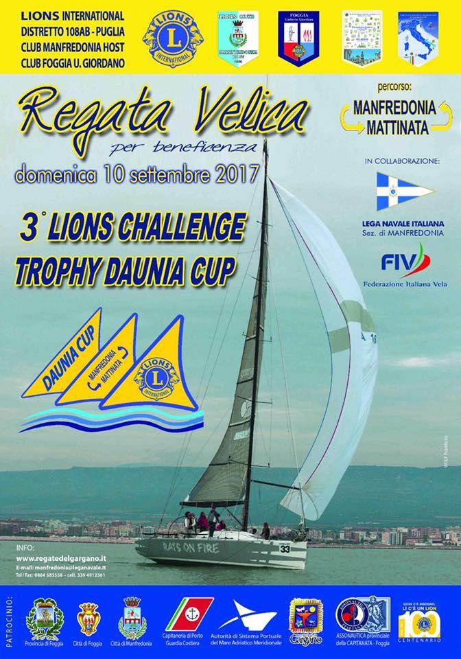 manifesto 3^ Daunia Cup Lions